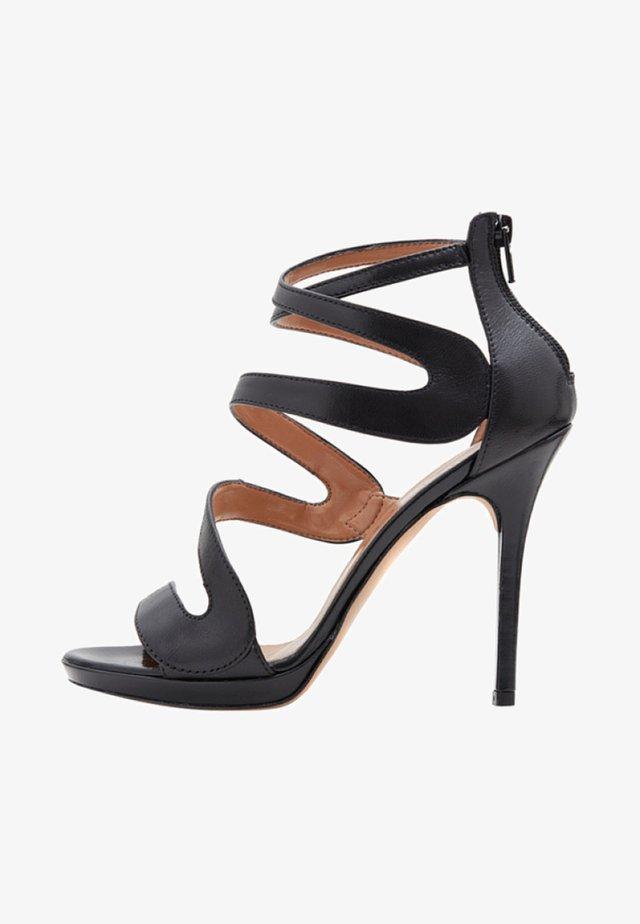 MARISOL - Sandalen met hoge hak - black
