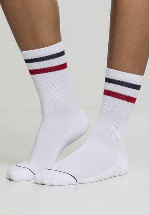 2 PACK - Socks - white navy red