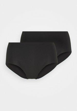 BRIEFS 2 PACK - Slip - black