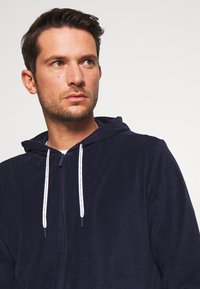 Lacoste - veste en sweat zippée - navy blue - 3