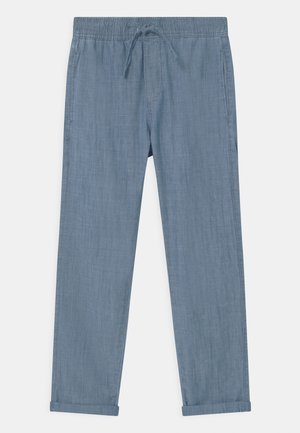 TEEN CHAMBRAY - Broek - dusty blue
