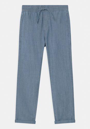 TEEN CHAMBRAY - Broek - dusty blue