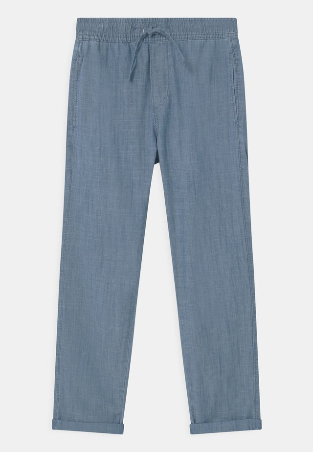 TEEN CHAMBRAY - Pantaloni - dusty blue