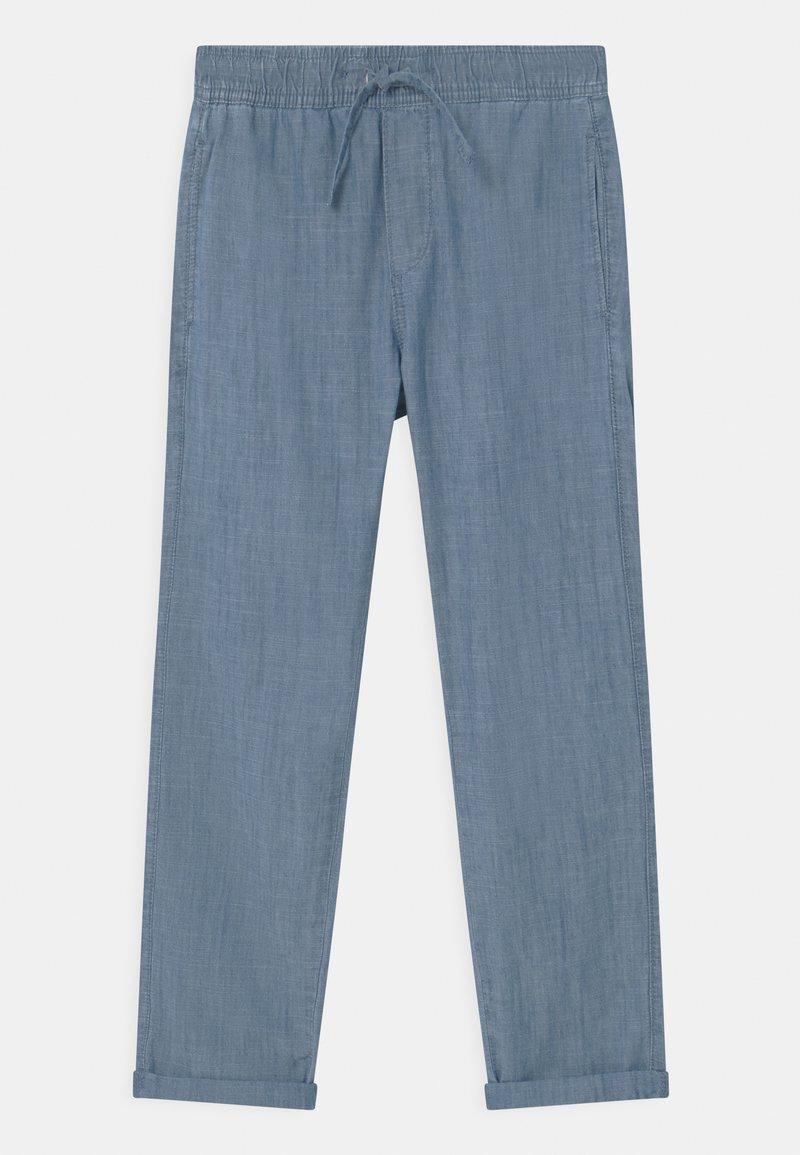 Lindex - TEEN CHAMBRAY - Broek - dusty blue