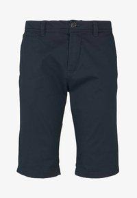 TOM TAILOR - JOSH  - Shorts - dark navy minimal design - 5