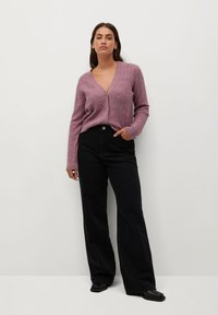 Violeta by Mango - JEWERLY - Cardigan - rosa - 1