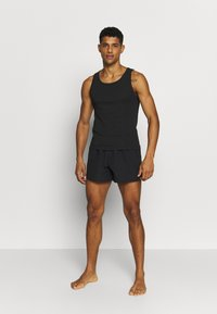 Pier One - 3 PACK - Undershirt - black - 1