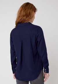 Wrangler - Button-down blouse - navy blue - 2