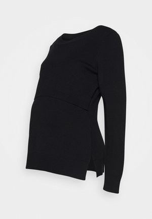 TONI NURSING - Jumper - black