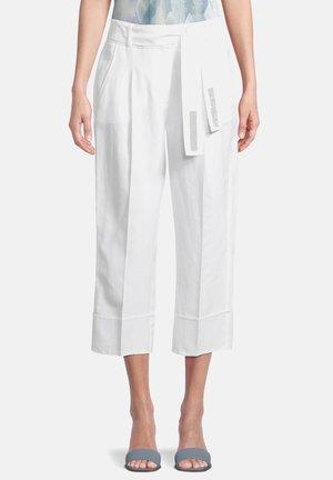 Pantalon classique - weiß