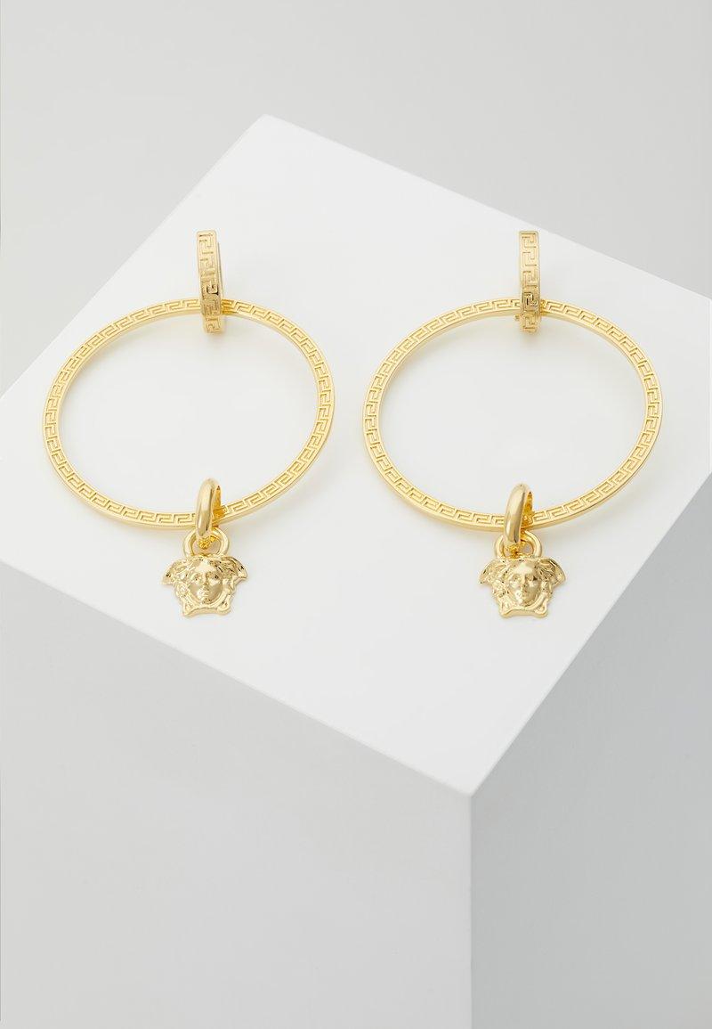 Versace - EARRINGS - Kolczyki - gold-coloured