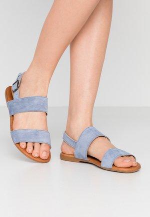 BIABROOKE BASIC  - Sandals - light blue