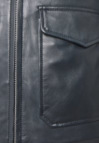 Serge Pariente - STYLE - Leather jacket - navy - 2