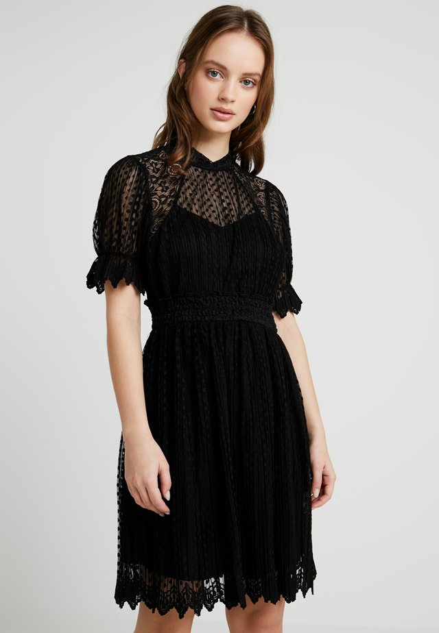LIDIA MIDI DRESS - Juhlamekko - black