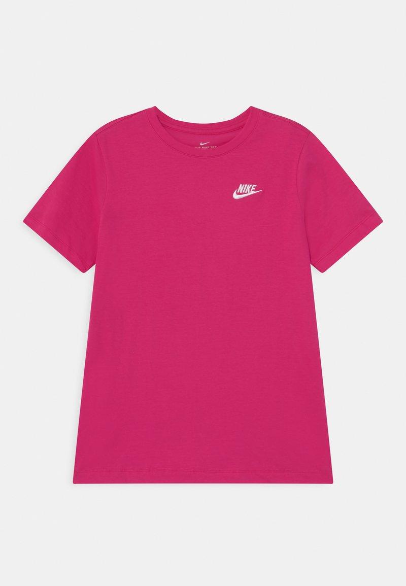 Nike Sportswear - FUTURA TEE  - Camiseta básica - fireberry