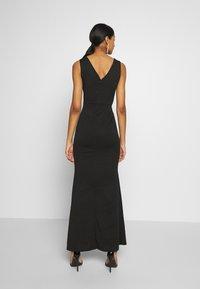 WAL G. - FLORAL MAXI DRESS - Suknia balowa - black - 2