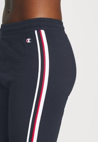 Champion - STRAIGHT HEM PANTS LEGACY - Verryttelyhousut - dark blue - 4