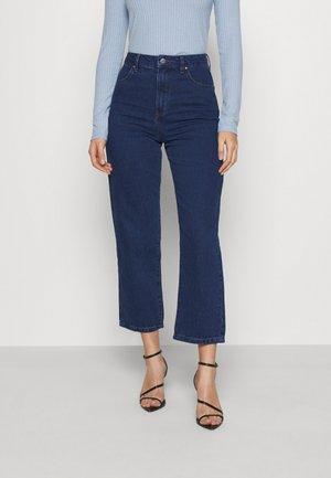 SHELBY - Straight leg jeans - indigo rinse
