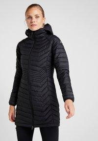Columbia - POWDER LITE MID JACKET - Zimní kabát - black - 0