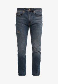 Pier One - Straight leg jeans - blue denim - 4
