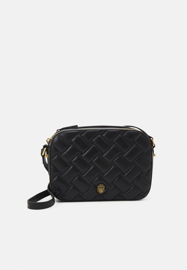 KENSINGTON CROSS BODY - Axelremsväska - black