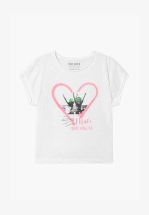 TEEN GIRL FRIENDS PHOTO - T-shirt con stampa - weiss