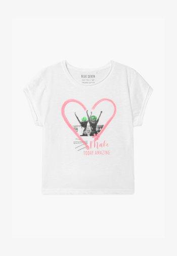 TEEN GIRL FRIENDS PHOTO - Print T-shirt - weiss