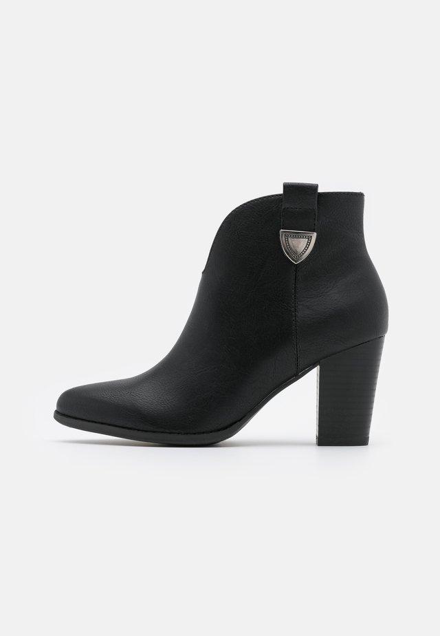 ANGELINA - Ankelboots - black