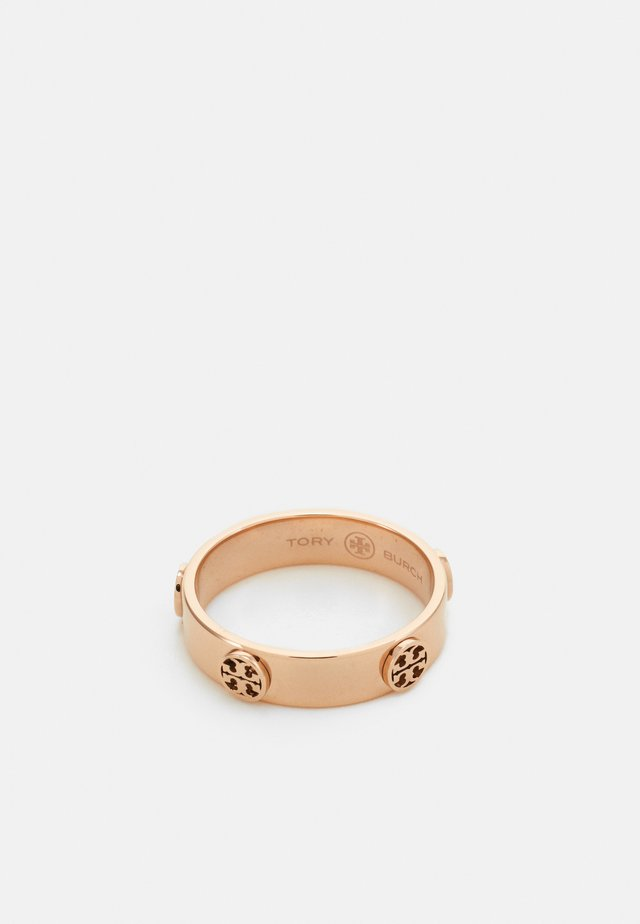 LOGO STUD - Ring - rose gold-coloured