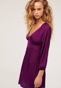 OYSHO - Day dress - dark purple - 3