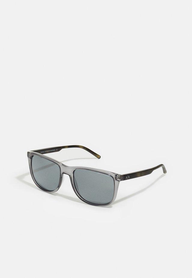 Zonnebril - transparent magnet grey
