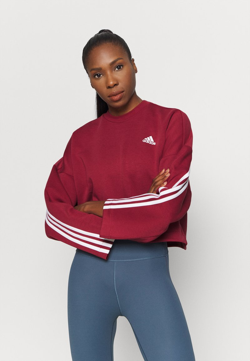 adidas Performance - CREW - Long sleeved top - legred