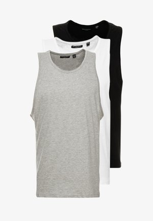 MULTIPACK - Basic T-shirt - white/ black/ grey