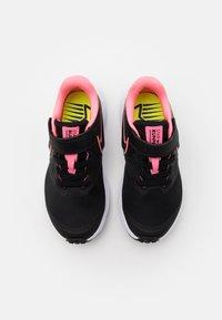 Nike Performance - STAR RUNNER 2 UNISEX - Neutral running shoes - black/sunset pulse/white - 3