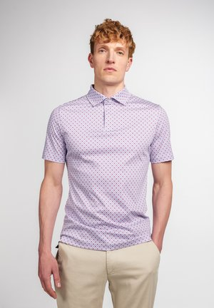 Poloshirt - pink/blau