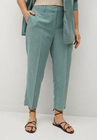 Violeta by Mango - FLEW - Trousers - grün - 0