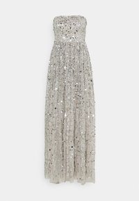Maya Deluxe - ALL OVER EMBELLISHED BANDEAU MAXI - Occasion wear - soft grey - 5
