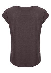 Saint Tropez - ADELIA - Basic T-shirt - huckleberry - 5