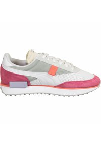 Puma - SCHUHE FUTURE RIDER STREAM ON W - Sneakers basse - white-bubblegum - 6