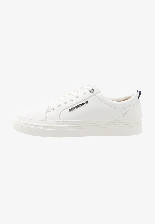 TRUMAN LACE UP - Baskets basses - white