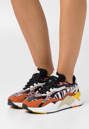 RS-X³ W.CATS - Sneakersy niskie - black/rust