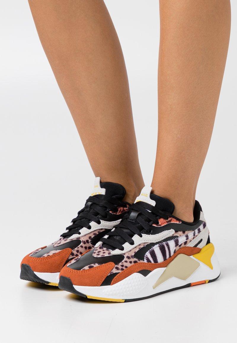 Puma - RS-X³ W.CATS - Sneakers laag - black/rust
