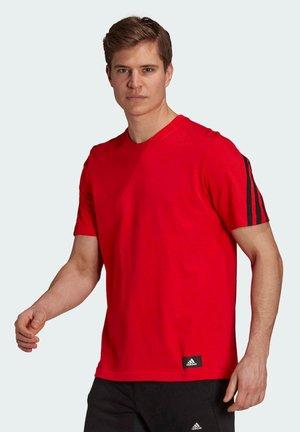 TEE - T-shirt - bas - red