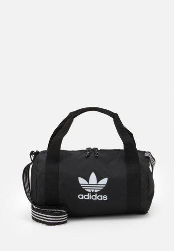 SHOULDER UNISEX - Sportovní taška - black/white