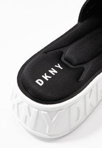 DKNY - MARA SLIDE - Mules - black - 2