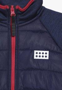 LEGO Wear - LWSAM 212 JACKET - Fleecová bunda - dark blue - 4