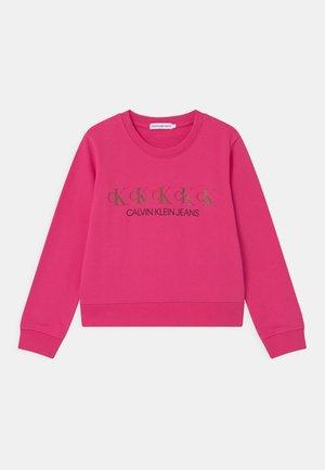 REPEAT FOIL - Sweatshirt - pink