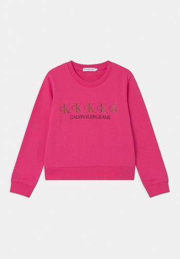REPEAT FOIL - Sweatshirts - pink
