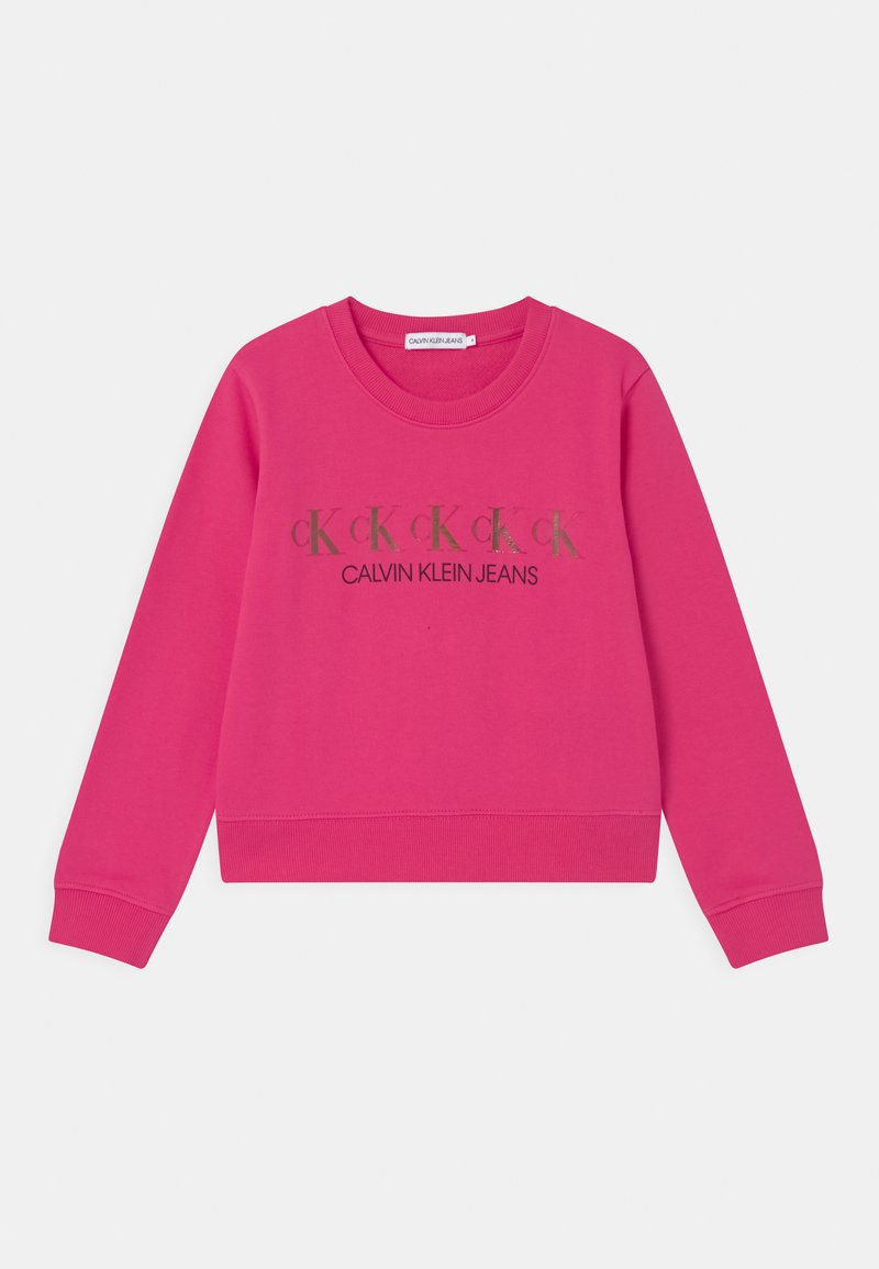 Calvin Klein Jeans - REPEAT FOIL - Mikina - pink
