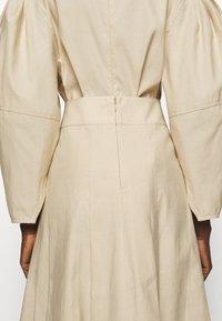 3.1 Phillip Lim - PLEATED A LINE SKIRT - A-line skirt - beige - 5